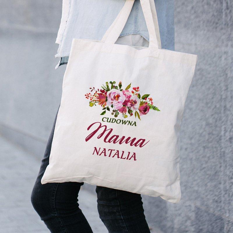 Zdjęcie w galerii - TORBA na Zakupy Dla Cudownej Kobiety Prezent dla NIEJ