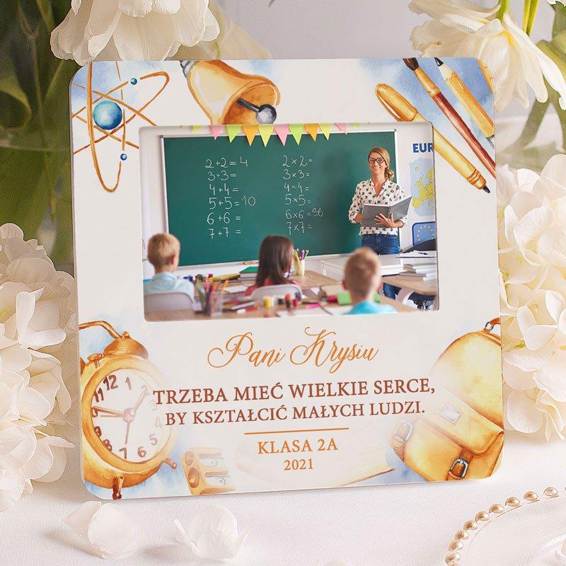 Zdjęcie w galerii - RAMKA na Zdjęcie Prezent Dla Nauczyciela Na Zakończenie Roku