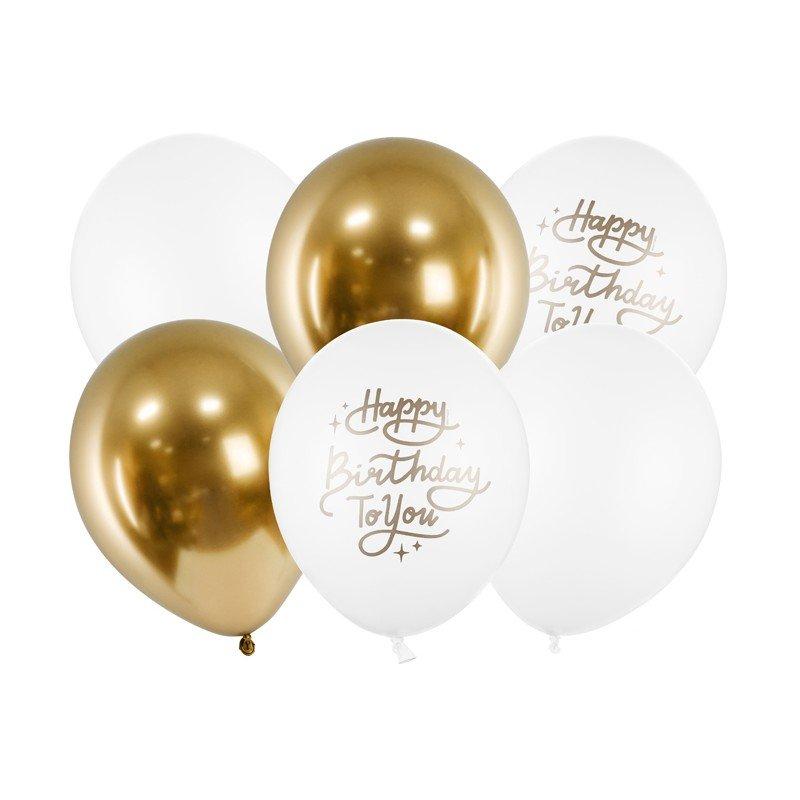 Zdjęcie w galerii - BALONY Happy Birthday To You Mix 30cm 6szt