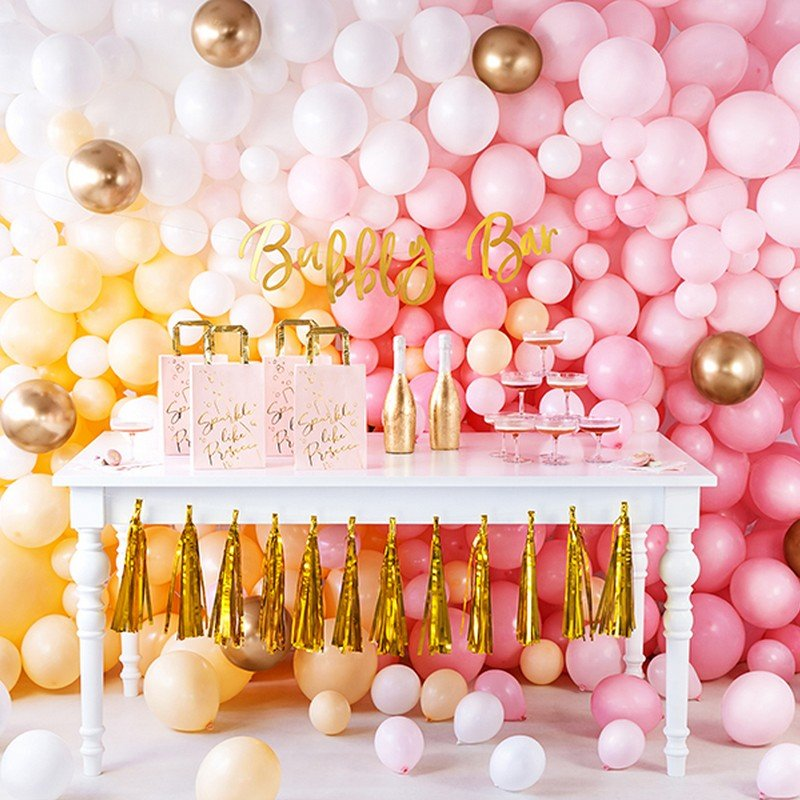 Zdjęcie w galerii - TOREBKI na prezenty różowe z napisem Sparkle like Prosecco 6szt