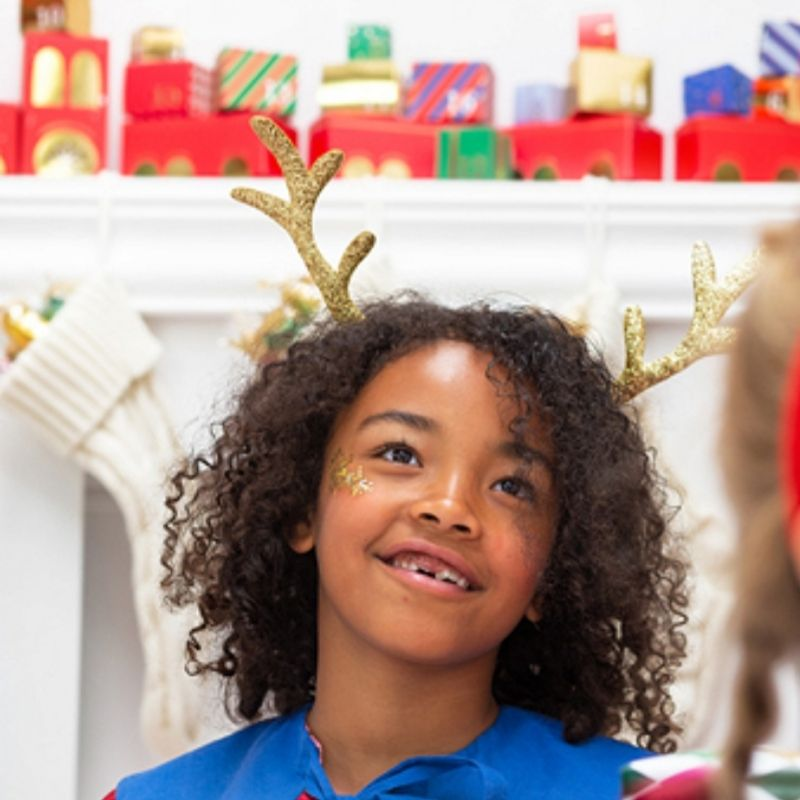 Zdjęcie w galerii - OPASKA na głowę świąteczna ozdoba Renifer