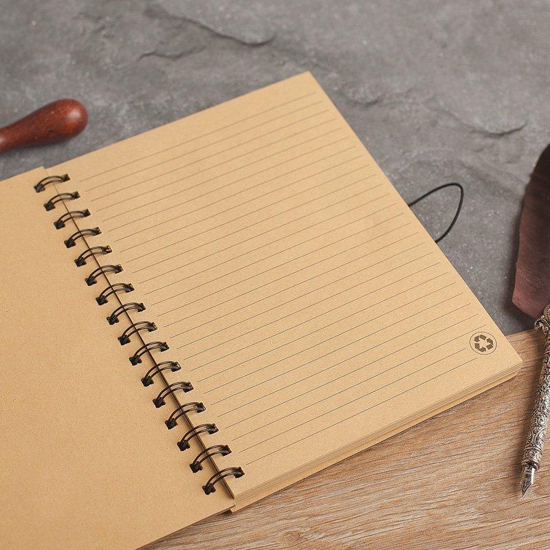 Zdjęcie w galerii - NOTATNIK PRZEPIŚNIK w bambusowej okładce