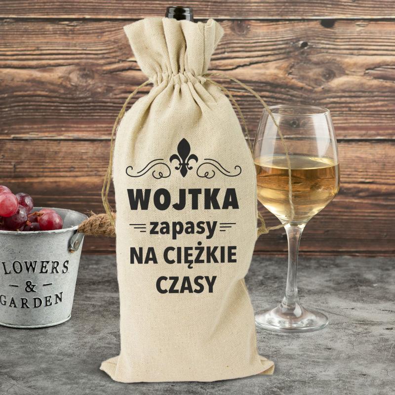 Worek na alkohol dla niego idealnie sprawdzi się jako miejsce na wino, whisky.